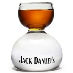 Jack Daniel's Whiskey on Water Shot Glass