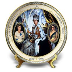 Queen Elizabeth II Diamond Jubilee Collector's Plate