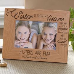 Special Sister Personalized 4x6 Photo Frame