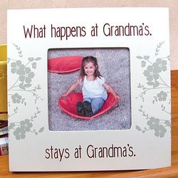 What Happens at Grandma's Picture Frame