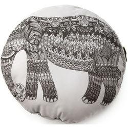Round Elephant Pillow