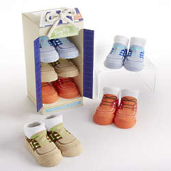 Buoy Boy Boat Shoe Style Baby Socks