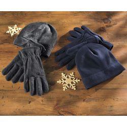 Fleece Hat and Glove Set