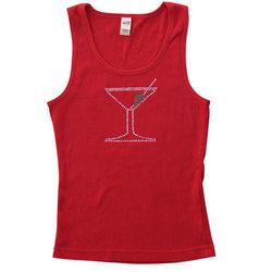 Red Sparkle 'Tini Women's Tank