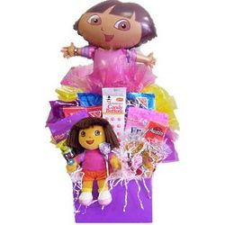 Dora The Explorer Candy Basket