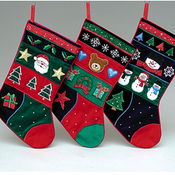 Highly Detailed Traditional Christmas Stocking