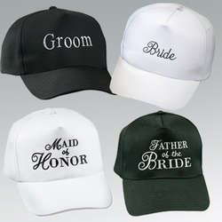 Personalized Bridal Party Baseball Cap