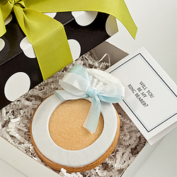 Will You Be My Ring Bearer? Edible Ring Card