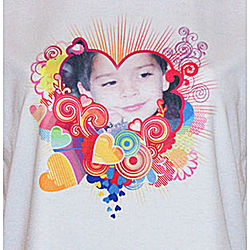 Ladies Photo Personalized Vapor Classic T-Shirt