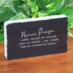 Personalized Inspirational Nurse Plaque