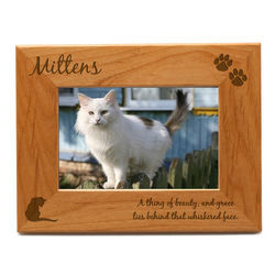 Personalized Cat Photo Frame
