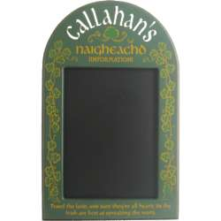 Personalized Irish Chalkboard