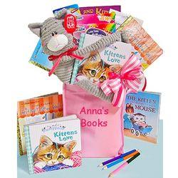 Girl's Witty Kitty Gift Bag