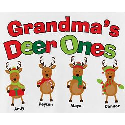 Personalized Deer Ones T-Shirt