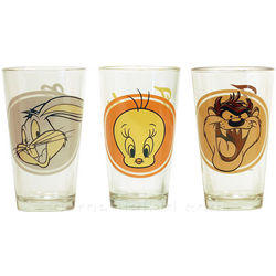 Looney Tunes Pint Glasses