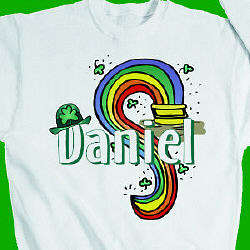 Luck o the Irish Adult Sweatshirt