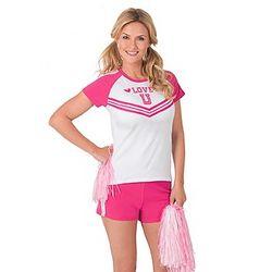 Cheerleader Pajama Short Set