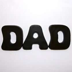 Dad Chocolate Letters