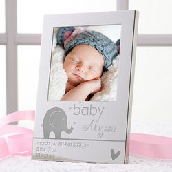 Precious Child Personalized Silver Picture Frame
