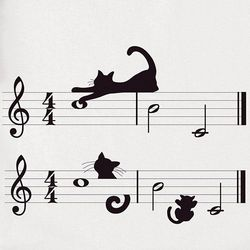 Cats and Music Women's T-Shirt