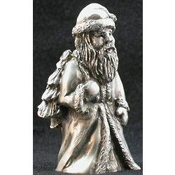 Old World Santa with Tree Figurine