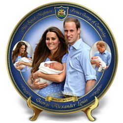 Prince George: Our Royal Heir Collector's Plate