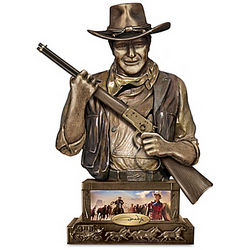 John Wayne Guardian Sculpted Western-Style Bank
