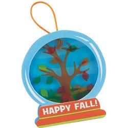 Fall Tree Snow Globe Ornament Craft Kits