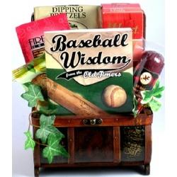 Baseball Lover's Gift Basket
