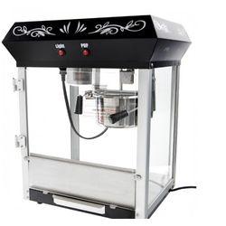 Black Popcorn Machine