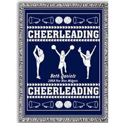 Classic Cheerleading Afghan