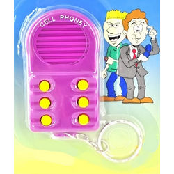 Sound Phoney Common Ringtone Pocket Keychain