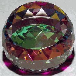 Firelight Crystal Paperweight