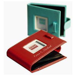 Personalized Leather Photo Wallet