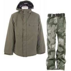 Bad Moon Rising Snowboard Jacket & Pant Set