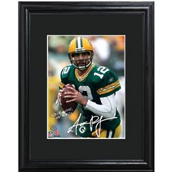 Green Bay Packers Aaron Rodgers Personalized Framed Print