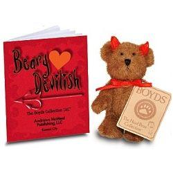 Boyds Beary Devilish Bear