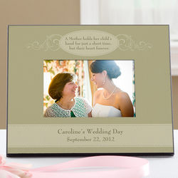 Personalized Wedding Mother Of The Bride Picture Frame