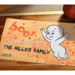 Personalized Casper the Friendly Ghost Halloween Doormat