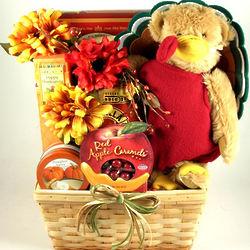 Great Gobbler Thanksgiving Goodies Gift Basket