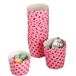 Polka Dot Cupcake Baking Cups