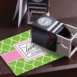 Love Personalized Stationery Stamp