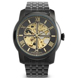 Men's IP Skeleton Watch