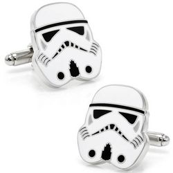 Star Wars Storm Trooper Head Cufflinks