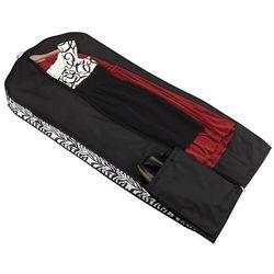 Zebra Print Garment Dress Bag