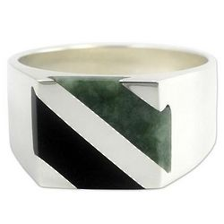 Men's Lord of the Land Jade Ring