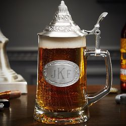 Classic Monogram Traditional German Beer Stein
