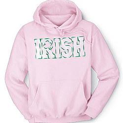 Pink Irish Hoodie