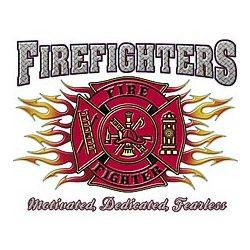 Firefighters Motivated T-Shirt