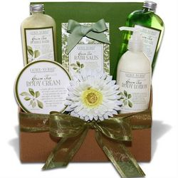 Rewind In Green Tea Spa Gift Box